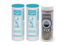 Kit 2 Un Corante Para Tecido Azul Turquesa + Fixador Tupyfix -