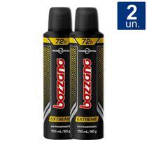 Kit 2 UN Desodorante Bozzano Extreme Aerosol -