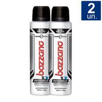 Kit 2 UN Desodorante Bozzano Invisible Aerosol -