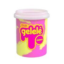 Kit 2 un gelelé geleinha massinha slaime bicolor pote 152 gr - Doce Brinquedo