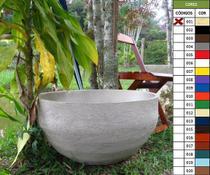 Kit 2 Vaso Planta 60x30 Bacia Polietileno - Bgplasticos