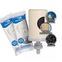 Kit 2 Velas Esterilizante Tripla Ação Stefani para Filtros de Barro -