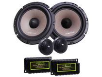 "Kit 2 Vias 6,5"" Audiophonic Sensation KS 6.2 130W RMS com Alto Falantes Tweeters e Crossovers - Audio Phonic"