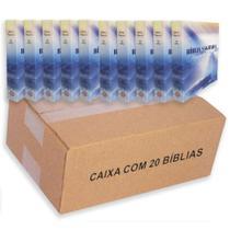 Kit 20 Biblias Pequena Brochura - 9x14cm - Kings Cross