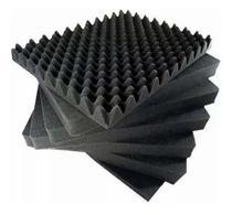Kit 20 Placas Espuma Acústica Antichama- Isolamento Acústico - Colchões Multiclasse