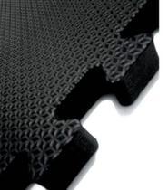Kit 20 Placas Tatame Tapete Eva Preto 30X30X1cm - Linha Econômica - Biatex