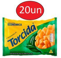 Kit 20 Salgadinhos Torcida Pimenta Mexicana 450g - Lucky -