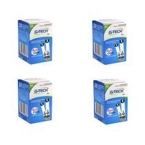 Kit 200 Tiras Reagentes G-tech Free Lite Teste De Glicemia -
