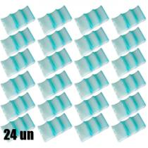 Kit 24 Un. Gelo Reutilizavel Gela Lata Formato de 3 Latinhas Plastico Virgem  Gelbrix -