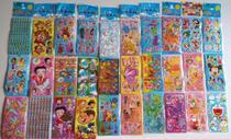 Kit 240 Cartelas Adesivo Infantil Sticker Vários Personagens de Menino e Menina - Stickers