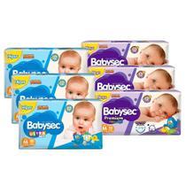 Kit 240 Fraldas Babysec Ultrasec M + 102 Fraldas Babysec Premium M - Softys