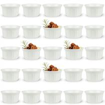 Kit 25 Tigelas Ramequim 150 Ml em Melamina Premium para Finger Food  Bestfer -