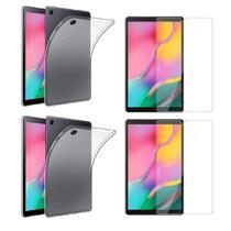 Kit 2Capas TPU+ Pel Vidro para Galaxy Tab A T510 T515 10.1'' - Yellow Cell