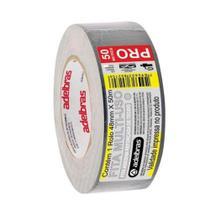 KIT 2un Fita Adesiva Multiuso Silver Tape 48mmx50m Adelbras -