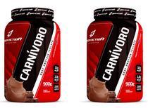 Kit 2x Carnívoro 900g Beef Protein Isolate - Bodyaction -