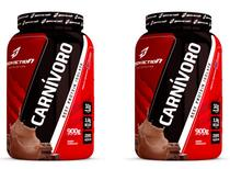 Kit 2x Carnívoro 900g Beef Protein Isolate - Bodyaction -