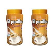 KIT 2x Cevada Solúvel El Pocillo Pote 200g Sem Cafeína -