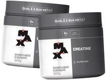 Kit 2x Creatina 300g - Max Titanium -