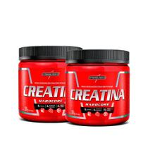 Kit 2x Creatina Hardcore Reload 300g Integralmédica -