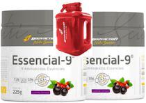 Kit 2x Essencial 9 Eaa Aminoácidos Essenciais - Body Action - Bodyaction