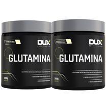 Kit 2x Glutamina 300g Sabor Natural Melhora de Imunidade - Dux Nutrition - Dux Nutriton