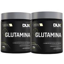 Kit 2x Glutamina 300g Sabor Natural Melhora de Imunidade - Dux Nutrition -