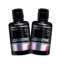 Kit 2x L-Carnitina 2000 Líquida 400ml - Açaí com Guaraná - Probiótica -