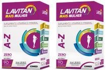 Kit 2x Lavitan Mais A-Z Mulher Total 180 Comprimidos - Cimed