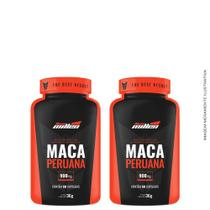 Kit 2x Maca Peruana C/ Vitamina C 60 Cáps Cada - New Millen -