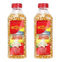 Kit 2x Milho Para Pipoca Tipo Jumbo - 685g - Pipoca Gigante - Cianorte