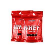 Kit 2x Nutri Whey Chocolate 907g Whey Protein Concentrado Isolado Integralmédica -