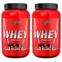 Kit 2X Nutri Whey Protein - 907g Baunilha - IntegralMédica - Integral Médica