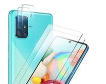 Kit 2x Pel. Câmera + 2x Pel. Vidro Comum Samsung Galaxy A51 - Renew