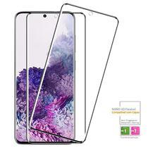 Kit 2x Película 5D Flexível Nano Galaxy S20 Plus + Kit Aplicação - Encapar