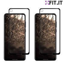 Kit 2X Película Nano 5D Motorola One Action Gel Flexível - FIT.IT -