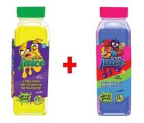Kit 2x Slime Juice Suco Frutas 265g DTC Banana Tutti-Frutti - Clio Pets