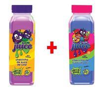Kit 2x Slime Juice Suco Frutas 265g DTC Uva Tutti-Frutti - Clio Pets