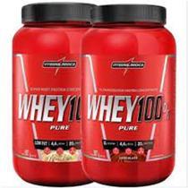 Kit 2x Whey 100% Pure 907g Integralmedica - INTEGRAL MEDICA