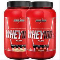 Kit 2x Whey 100% Pure 907g Integralmedica - Integralmédica
