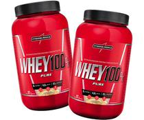 Kit 2x Whey 100 Pure (907g) - Integralmedica
