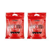 Kit 2x Whey 100% Pure Concentrado Cookies and Cream Refil 907g - Integralmedica - Integralmédica