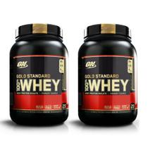 Kit 2X Whey Gold Standard 907GR (1.8KG) - Chocolate - Optimu - Geral