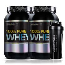 Kit 2x Whey Protein 100 Pure Probiótica 900g (total 1,8kg)