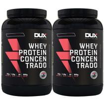 Kit 2x Whey Protein Concentrado 900g - Dux Nutrition -