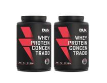 Kit 2x Whey Protein Concentrado 900g Dux Nutrition -