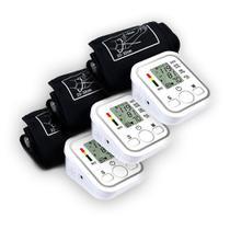 Kit 3 Aparelhos Medidor De Pressão Arterial Digital Braço Mega Premium - Boas