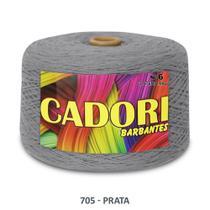 kit 3 Barbante Cadori N06 - 1,8KG Prata -