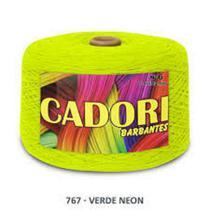 kit 3 Barbante Cadori N06 - 1,8KG Verde Neon -