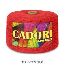 kit 3 Barbante Cadori N06 - 1,8KG Vermelho -