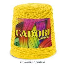 kit 3 Barbante Cadori N06 - 700m Amarelo Canario -
